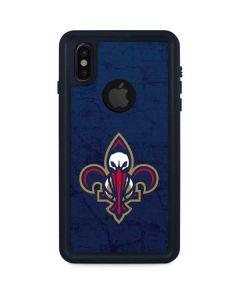 New Orleans Pelicans iPhone XS Waterproof Case