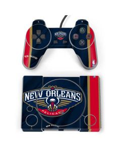 New Orleans Pelicans Jersey PlayStation Classic Bundle Skin