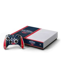 New Orleans Pelicans Jersey Xbox One S All-Digital Edition Bundle Skin