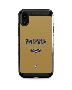 New Orleans Pelicans Standard - Gold iPhone XR Cargo Case