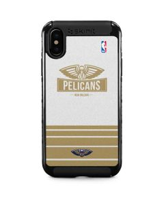 New Orleans Pelicans Static iPhone XS Cargo Case
