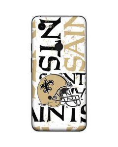 New Orleans Saints - Blast Google Pixel 3a Skin
