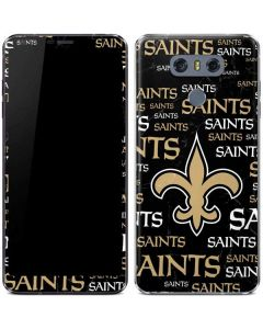 New Orleans Saints Black Blast LG G6 Skin