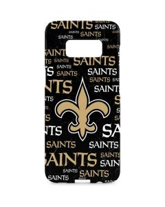 New Orleans Saints Black Blast Galaxy S8 Plus Lite Case