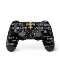 New Orleans Saints Black Blast PS4 Controller Skin