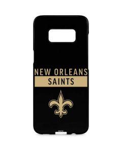 New Orleans Saints Black Performance Series Galaxy S8 Plus Lite Case