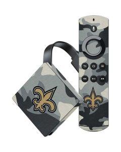 New Orleans Saints Camo Amazon Fire TV Skin