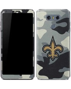 New Orleans Saints Camo LG G6 Skin