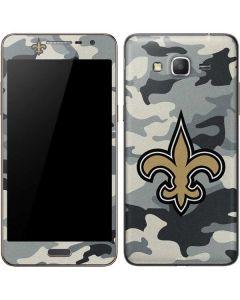 New Orleans Saints Camo Galaxy Grand Prime Skin