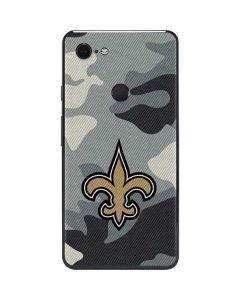 New Orleans Saints Camo Google Pixel 3 XL Skin