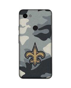New Orleans Saints Camo Google Pixel 3a Skin