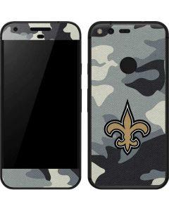 New Orleans Saints Camo Google Pixel Skin