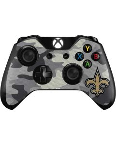 New Orleans Saints Camo Xbox One Controller Skin