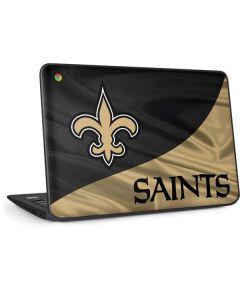 New Orleans Saints HP Chromebook Skin
