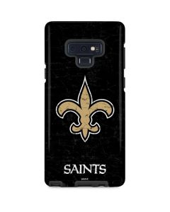 New Orleans Saints Distressed Galaxy Note 9 Pro Case