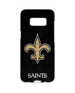 New Orleans Saints Distressed Galaxy S8 Plus Lite Case