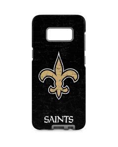 New Orleans Saints Distressed Galaxy S8 Pro Case