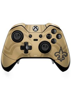 New Orleans Saints Double Vision Xbox One Elite Controller Skin