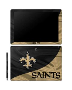 New Orleans Saints Galaxy Book 12in Skin