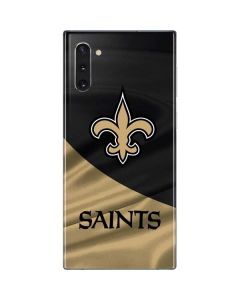 New Orleans Saints Galaxy Note 10 Skin