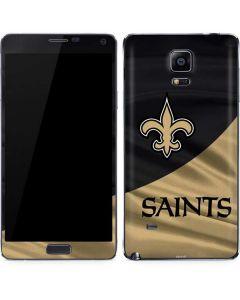 New Orleans Saints Galaxy Note 4 Skin