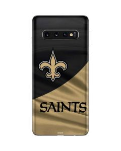New Orleans Saints Galaxy S10 Skin