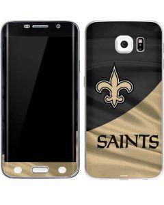 New Orleans Saints Galaxy S6 Edge Skin