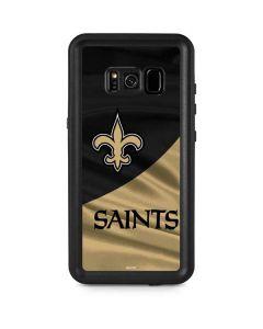 New Orleans Saints Galaxy S8 Plus Waterproof Case