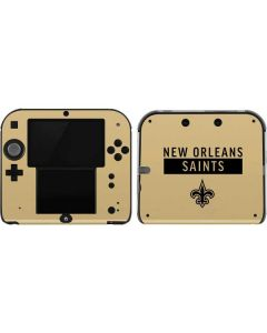 New Orleans Saints Gold Performance Series 2DS Skin
