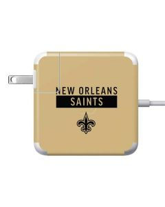 New Orleans Saints Gold Performance Series Apple Charger Skin