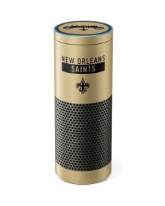 New Orleans Saints Gold Performance Series Amazon Echo Skin