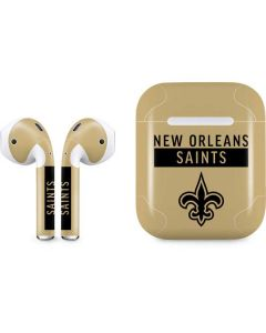 New Orleans Saints Gold Performance Series Apple AirPods Skin