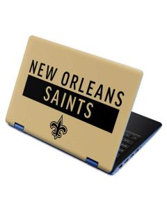 New Orleans Saints Gold Performance Series Aspire R11 11.6in Skin