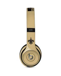 New Orleans Saints Gold Performance Series Beats Solo 2 Wired Skin