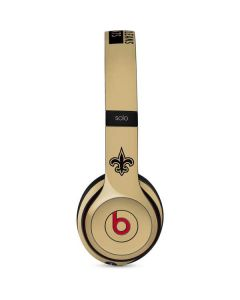New Orleans Saints Gold Performance Series Beats Solo 3 Wireless Skin