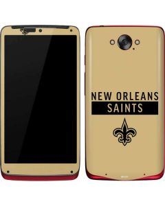 New Orleans Saints Gold Performance Series Motorola Droid Skin