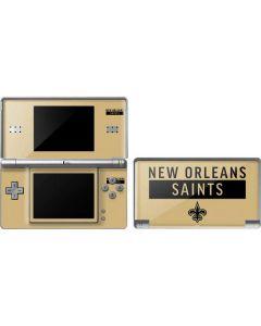 New Orleans Saints Gold Performance Series DS Lite Skin