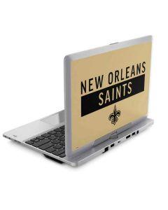 New Orleans Saints Gold Performance Series Elitebook Revolve 810 Skin