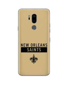 New Orleans Saints Gold Performance Series G7 ThinQ Skin