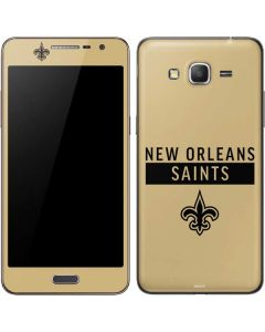 New Orleans Saints Gold Performance Series Galaxy Grand Prime Skin