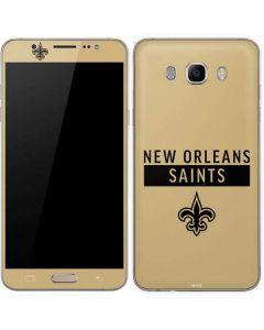 New Orleans Saints Gold Performance Series Galaxy J7 Skin