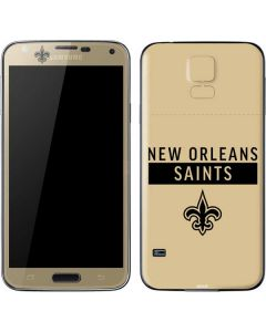New Orleans Saints Gold Performance Series Galaxy S5 Skin