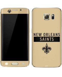 New Orleans Saints Gold Performance Series Galaxy S6 edge+ Skin