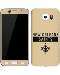 New Orleans Saints Gold Performance Series Galaxy S6 Skin