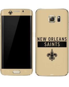 New Orleans Saints Gold Performance Series Galaxy S7 Edge Skin