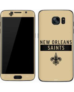New Orleans Saints Gold Performance Series Galaxy S7 Skin
