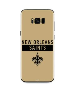 New Orleans Saints Gold Performance Series Galaxy S8 Skin