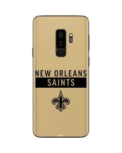 New Orleans Saints Gold Performance Series Galaxy S9 Plus Skin