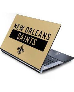 New Orleans Saints Gold Performance Series Generic Laptop Skin