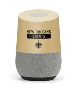 New Orleans Saints Gold Performance Series Google Home Skin